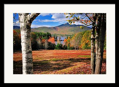 Mt Chocorua Framed Prints