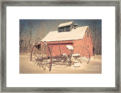 Mt. Cube Farm Old Sugar Shack Framed Print