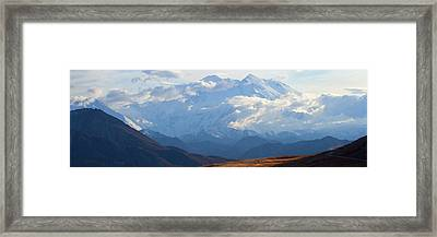 Framed Print featuring the photograph Mt. Denali by Ann Lauwers
