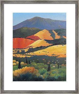 Mt. Diablo 1 Framed Print by Gary Coleman