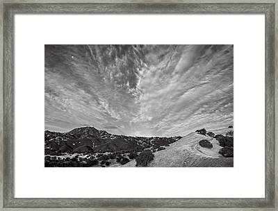 Mt Diablo And Ridge Trail Framed Print by Marc Crumpler