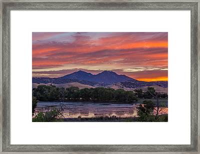 Mt Diablo Sunset Photograph By Marc Crumpler