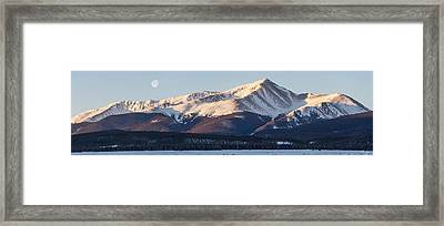 Mt. Elbert Framed Print