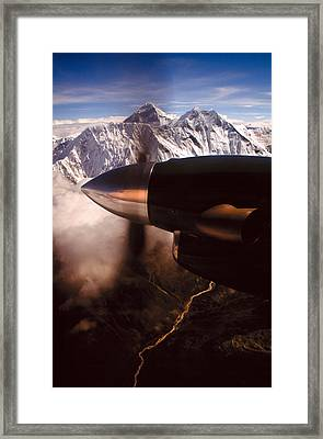 Mt. Everest Framed Print