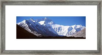 Mt Everest, Nepal Framed Print by Panoramic Images