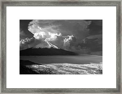 Mt. Fuji Of Japan Framed Print