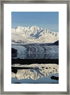 Mt. Gilbert-lewis Framed Print by Ted Raynor