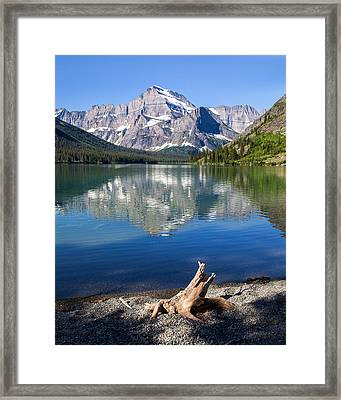 Mt Gould Reflections Framed Print