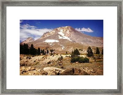 Mt. Hood Framed Print by Marty Koch