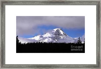 Mt. Hood- Oregon Framed Print by Howard Koby