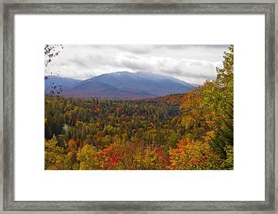 Mt Jo Wright Algonquin Framed Print