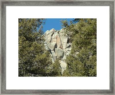 Mt Landscape Framed Print by Yvette Pichette