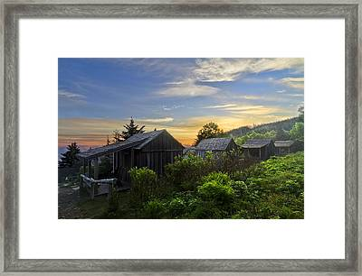 Mt Leconte Before Dawn Framed Print by Debra and Dave Vanderlaan