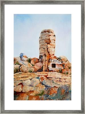 Mt Lemmon Tucson Az Framed Print