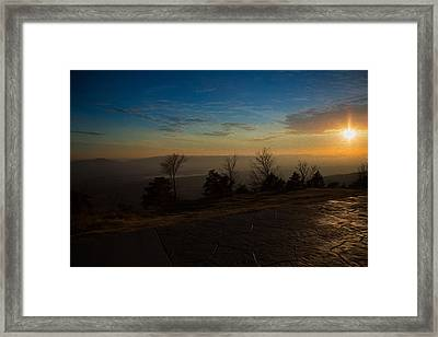 Mt. Magazine IIi Framed Print by Ken Gehring