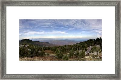 Mt Mitchell Blue Ridge Parkway Framed Print by Dustin K Ryan
