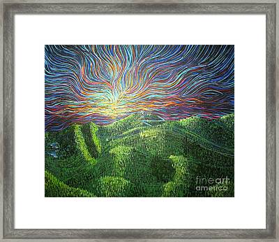 Mt. Mitchell  Framed Print