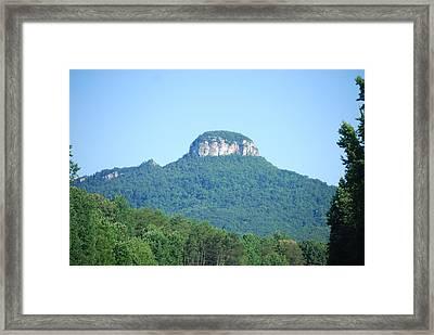 Mt. Pilot North Carolina Framed Print by Deborah Velazquez