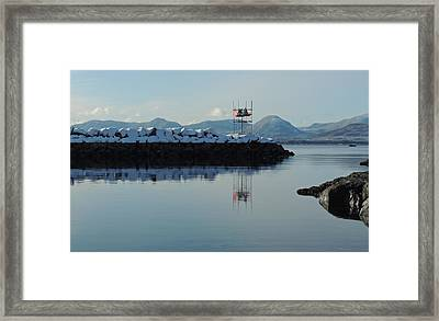 Mt. Point Winter Framed Print