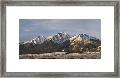 Mt. Princeton Sunrise Framed Print