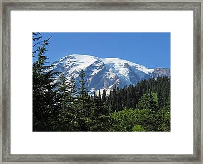 Washington's Mt. Rainier Framed Print