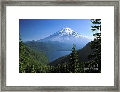 Mt. Saint Helens Framed Print by Thomas & Pat Leeson