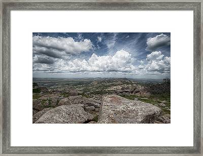 Framed Print featuring the photograph Mt. Scott by Yvonne Emerson AKA RavenSoul