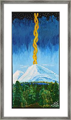 Mt. Shasta Framed Print by Cassie Sears