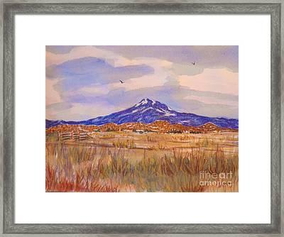Mt. Shasta Framed Print