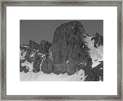406427-mt. Sill, Bw Framed Print