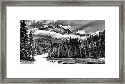 Mt Sneffels Framed Print