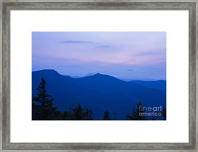 Mt Tecumseh - Waterville Valley New Hampshire Usa Framed Print