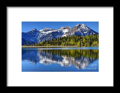 American Fork Canyon Framed Prints