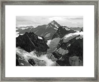 Mt. Titlis Framed Print
