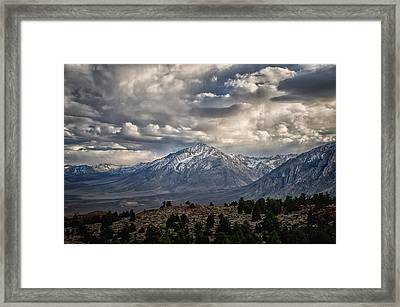 Mt. Tom Framed Print by Cat Connor