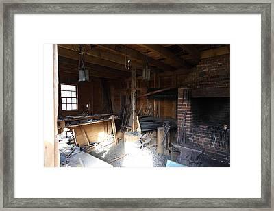 Mt Vernon - 011316 Framed Print