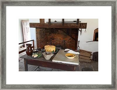 Mt Vernon - 011320 Framed Print