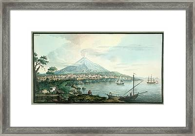 Mt. Vesuvius Framed Print