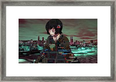 Mtl Love Framed Print by G Knight