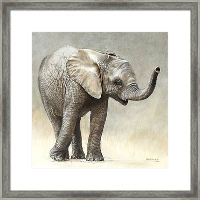 Mtoto Tembo Framed Print