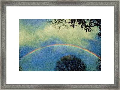 Framed Print featuring the photograph Much Needed Hope by Denise Beverly