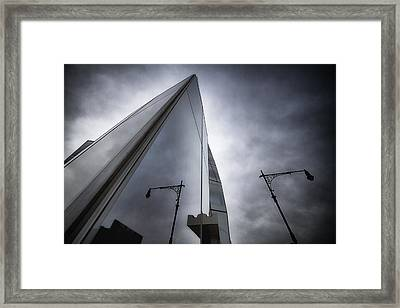 Much Of Mistrust  Framed Print by Russell Styles