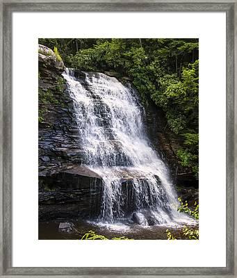 Mud Creek Falls 1  Framed Print