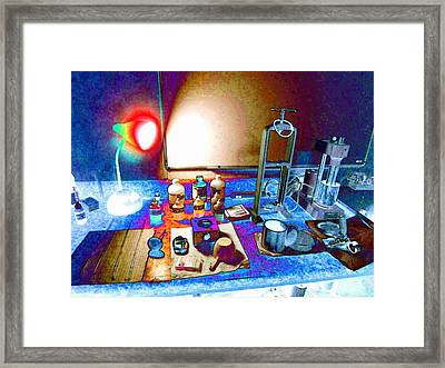 Mud Engineer Framed Print