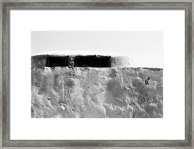 Mud House Wall Framed Print by Jagdish Agarwal