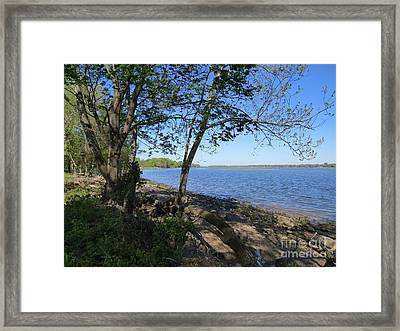 Mud Island Framed Print