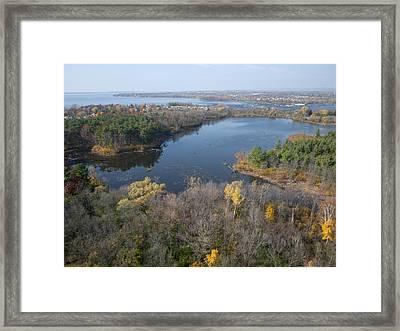 Mud Lake, Ottawa Framed Print
