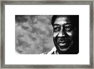 Muddy  Framed Print