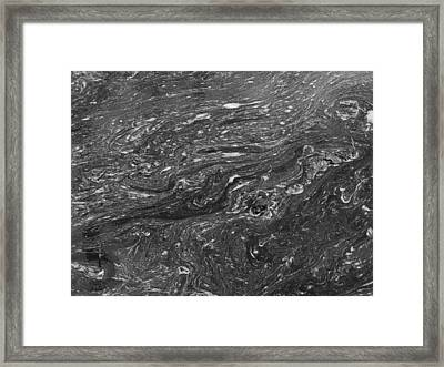 Muddy Water Framed Print