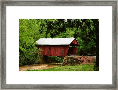 Framed Print featuring the photograph Muddy Waters by Bob Sample